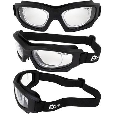 Flyer RX Insert ANSI Clear Lens Safety Goggles