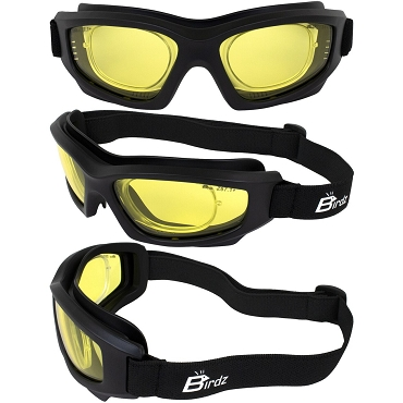 Flyer RX Insert ANSI Yellow Lens Biker Goggles