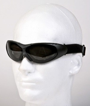 Motorcycle Goggles with Smoked Lenses