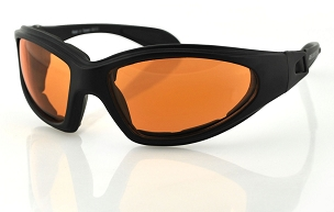 Bobster GXR Sunglasses Goggles Amber Lenses