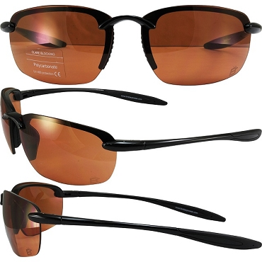 High Definition Sunglasses Amber Lenses