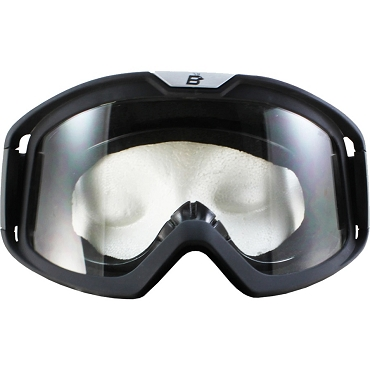 Pelican Fit Over Glasses Clear Biker Goggles