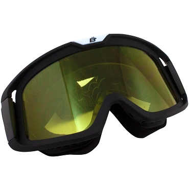 Pelican Fit Over Glasses Yellow Biker Goggles