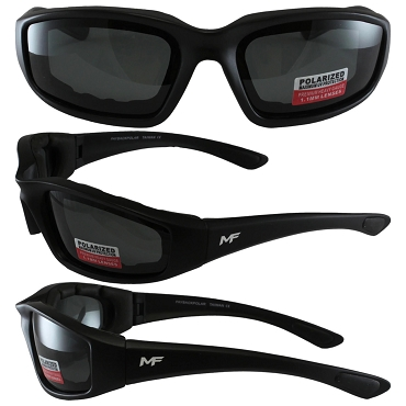 Universal Fit Motorcycle Sunglasses Polarized Lenses