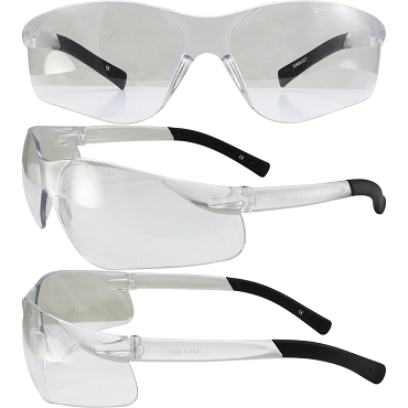 Turbo Jet Safety Glasses Indoor Outdoor Lenses