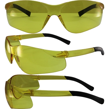 Turbo Jet Safety Glasses with Yellow Lenses