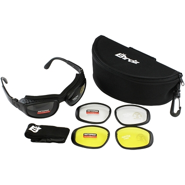 Motorcycle Sunglasses Goggles Kit