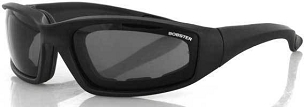 Foamerz 2 Motorcycle Sunglasses Smoke Lenses