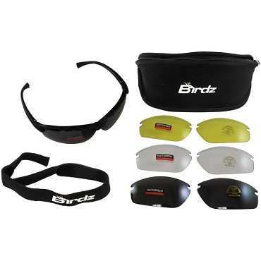 Motorcycle Sunglasses Kit Multiple Lenses