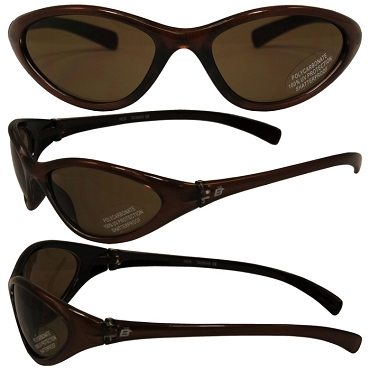 Motorcycle Sunglasses with Amber Lenses Hen