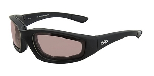 Kickback Motorcycle Sunglasses Driving Mirror Lenses