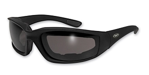 Motorcycle Sunglasses Clear to Smoke Photochromatic Lenses
