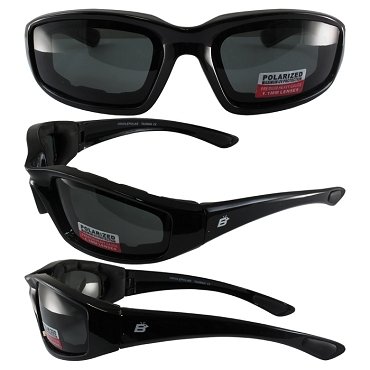 Motorcycle Sunglasses Polarized Smoke Lenses