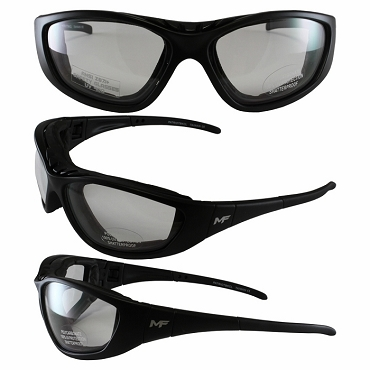 3 in 1 Motorcycle Sunglasses Goggles Clear Lenses