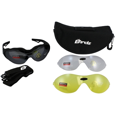Motorcycle Sunglasses Goggles Kit Phoenix