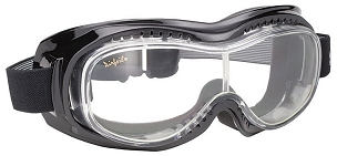 Airfoil 9305 Clear Biker Motorcycle Goggles