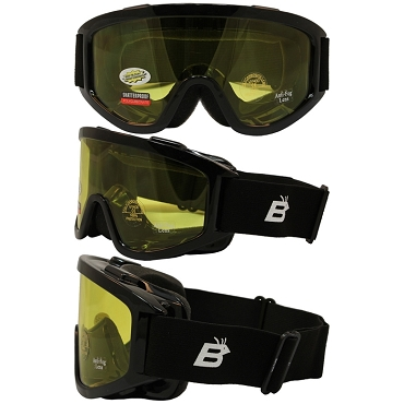 Fit Over Goggles with Yellow Lens
