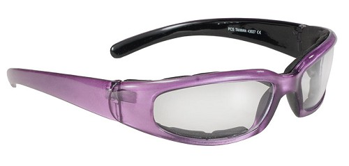 Chix Rally Foam Sunglasses Clear Lenses