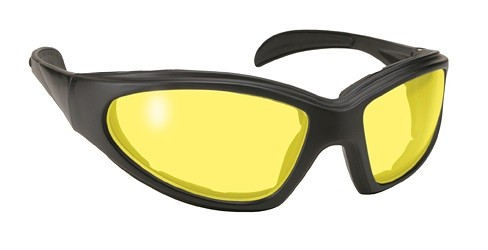 Chopper Motorcycle Sunglasses Yellow Lenses