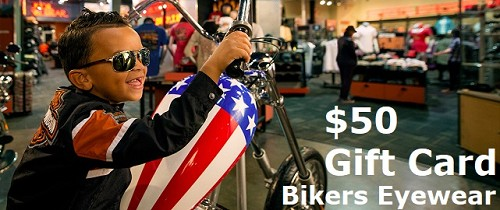 50 Gift Card - Bikers Eyewear