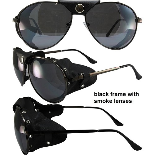 Aviator 3 Motorcycle Sunglasses Multiple Colors