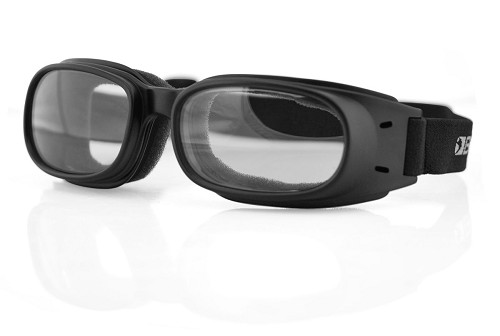 Bobster Piston Goggles Clear Lenses