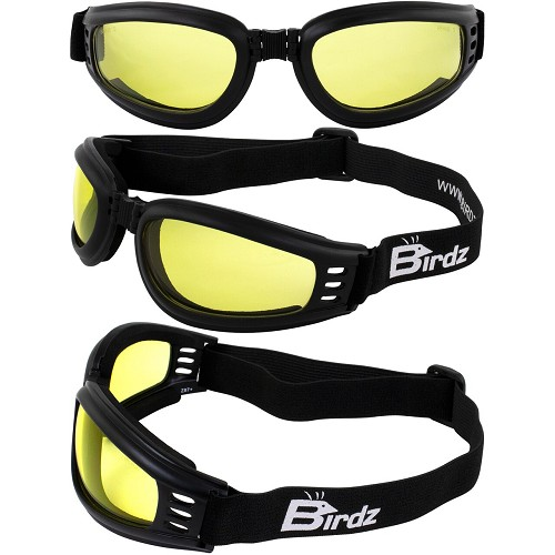 Cardinal ANSI Foam Padded Goggles Yellow Lenses