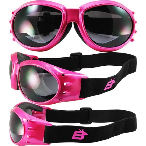 Eagle Sport Enthusiasts Pink Goggles Smoke Lenses