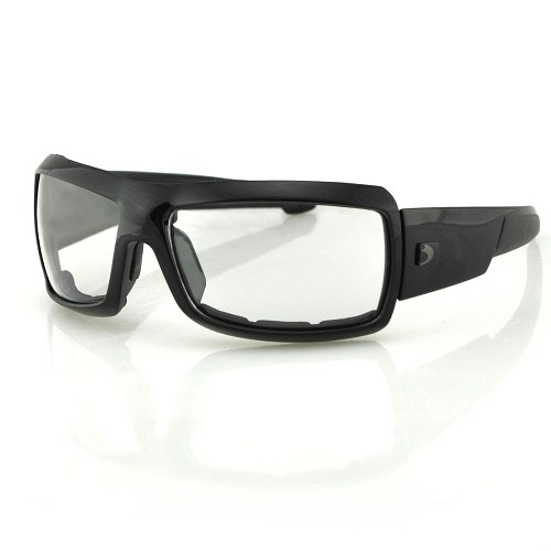Bobster Trike Sunglasses Clear Lenses