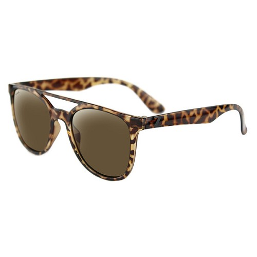 Levee Sunglasses Tortoise Frame Brown Lenses