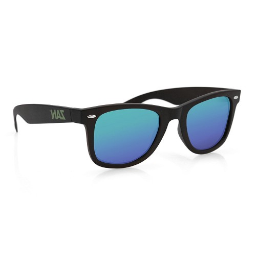 Sunglasses with Smoked Green Mirror Lens