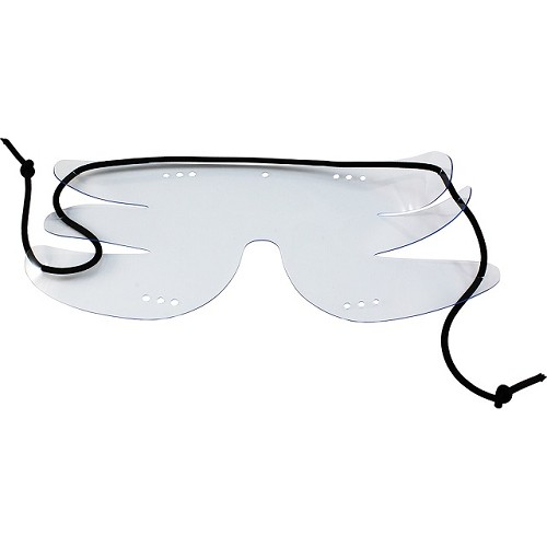 Flockz Clear Pull Together Skydiving Goggles