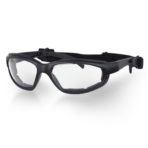 UV Anti-Fog Clear Lens Motorcycle Goggles