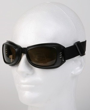 Motorcycle Goggles with Amber Lenses