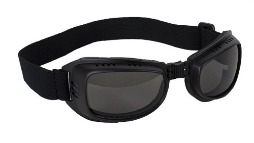 Motorcycle Goggles with Smoke Lenses