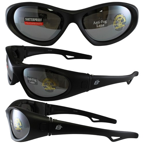 Motorcycle Sunglasses Goggles Smoke Mirror