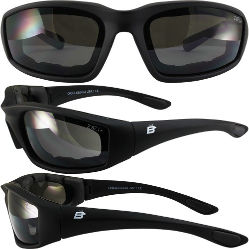 Oriole SS Foam Padded Sunglasses Smoke Lenses