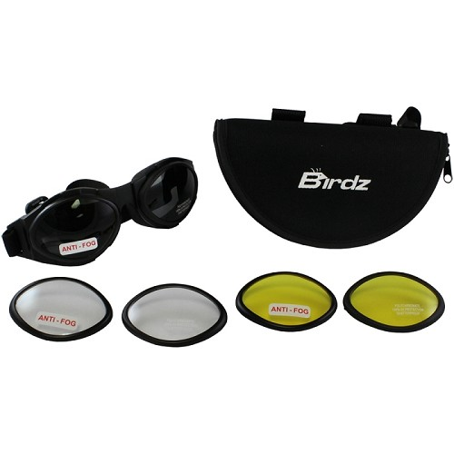 Motorcycle Goggles Kit 3 Changeable Lenses