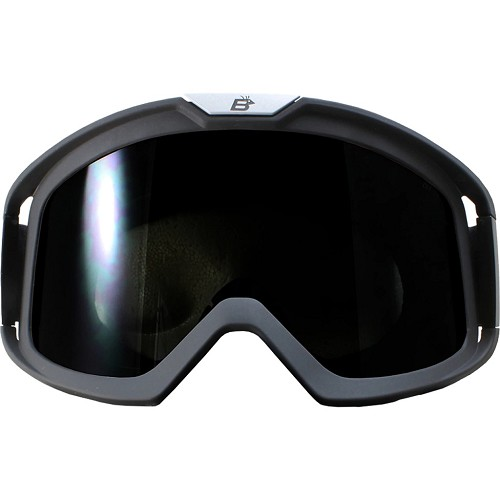 Pelican Fit Over Glasses Smoke Biker Goggles