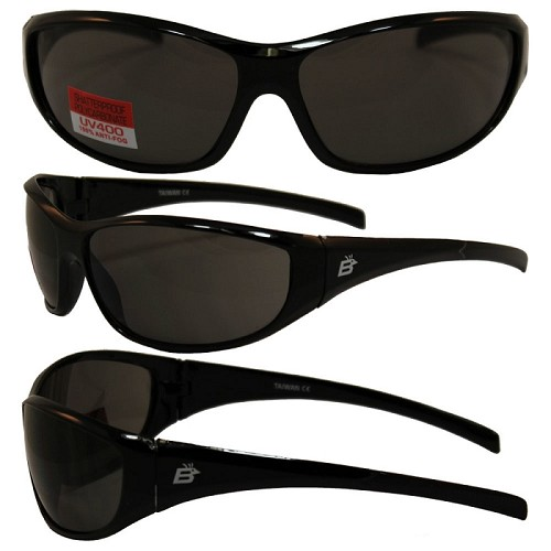 Motorcycle Sunglasses Smoke Lenses Sparrow