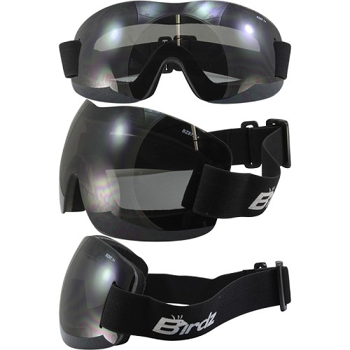 Lightweight Motorcycle Goggles Smoke Lens