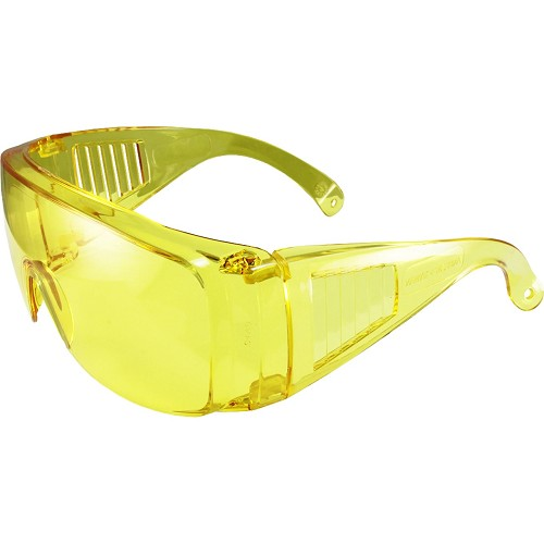 Visitor Fit Over Yellow Safety Glasses